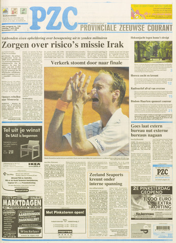 Provinciale Zeeuwse Courant 2003-06-07