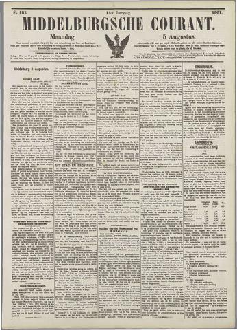 Middelburgsche Courant 1901-08-05