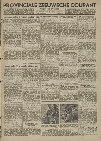 Provinciale Zeeuwse Courant 1944-06-23