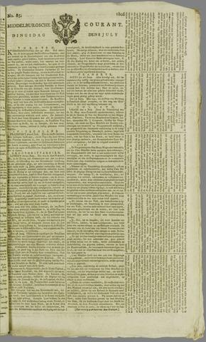Middelburgsche Courant 1806-07-08