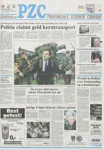 Provinciale Zeeuwse Courant 2001-09-06