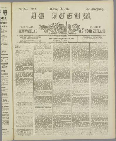 De Zeeuw. Christelijk-historisch nieuwsblad voor Zeeland 1912-06-25