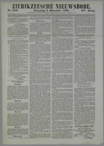 Zierikzeesche Nieuwsbode 1881-12-06