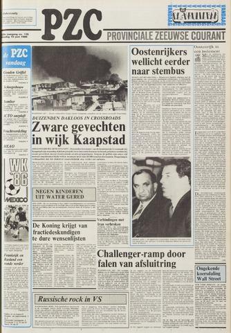 Provinciale Zeeuwse Courant 1986-06-10