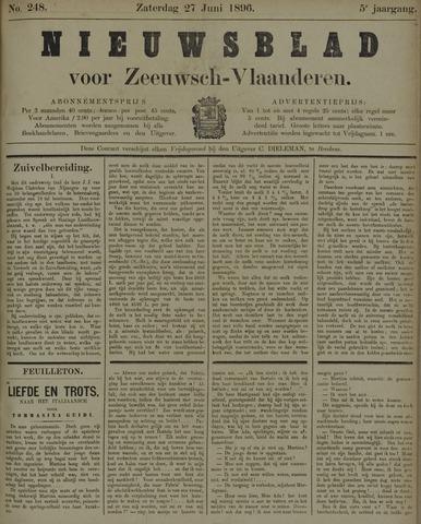 Nieuwsblad voor Zeeuwsch-Vlaanderen 1896-06-27
