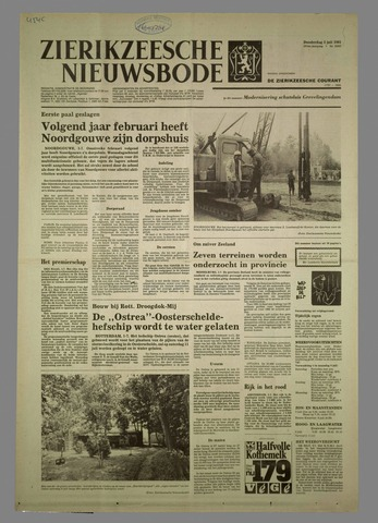 Zierikzeesche Nieuwsbode 1981-07-02