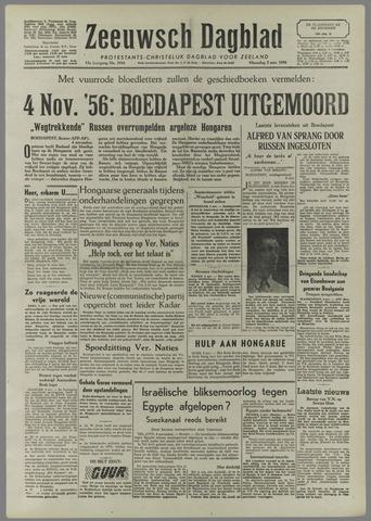 Zeeuwsch Dagblad 1956-11-05