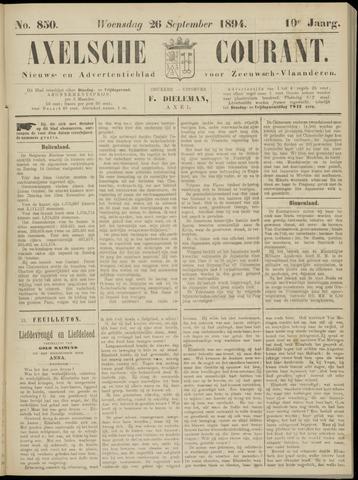 Axelsche Courant 1894-09-26
