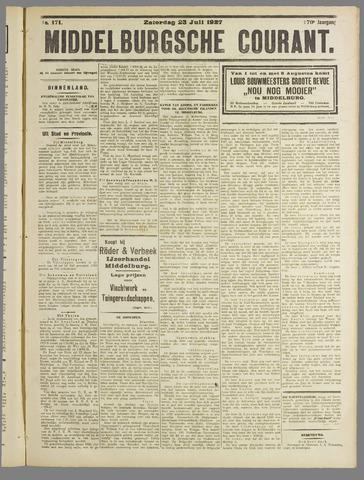 Middelburgsche Courant 1927-07-23