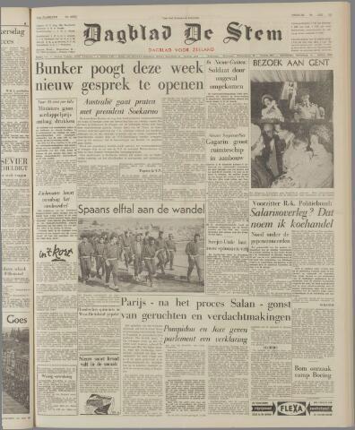 de Stem 1962-05-29