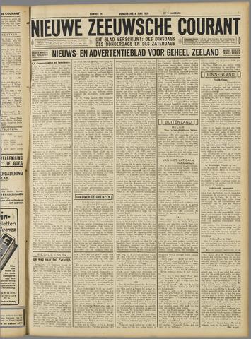 Nieuwe Zeeuwsche Courant 1931-06-04