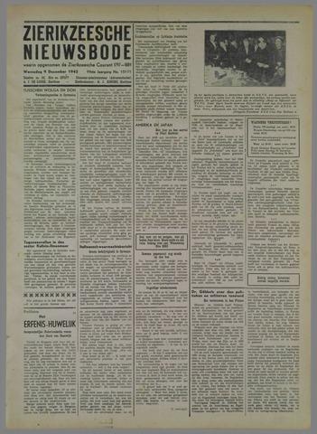 Zierikzeesche Nieuwsbode 1942-12-09