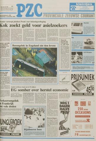 Provinciale Zeeuwse Courant 1993-11-11
