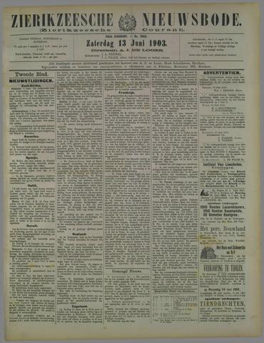 Zierikzeesche Nieuwsbode 1903-06-13