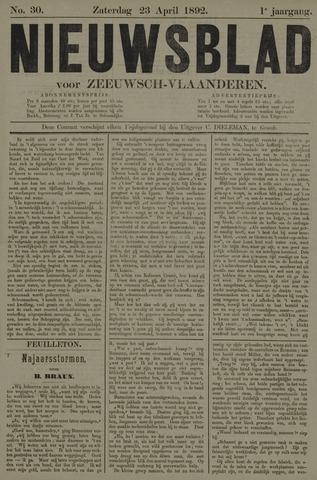 Nieuwsblad voor Zeeuwsch-Vlaanderen 1892-04-23