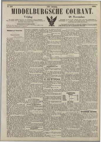 Middelburgsche Courant 1902-11-28