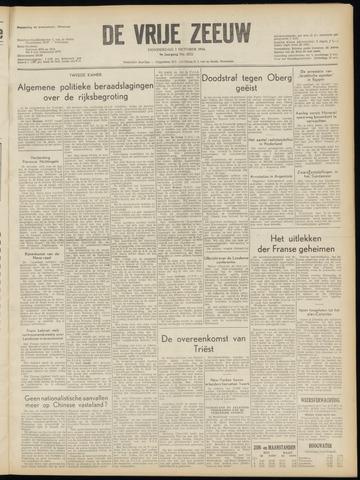 de Vrije Zeeuw 1954-10-07