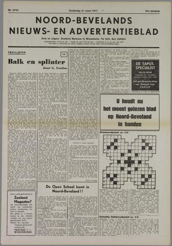 Noord-Bevelands Nieuws- en advertentieblad 1977-03-31