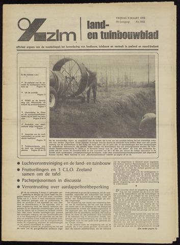 Zeeuwsch landbouwblad ... ZLM land- en tuinbouwblad 1970-03-04