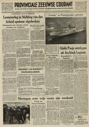 Provinciale Zeeuwse Courant 1956-03-03