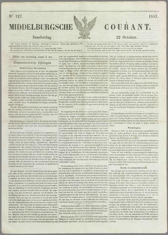 Middelburgsche Courant 1857-10-22