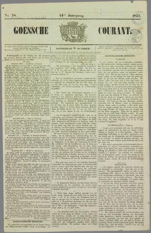 Goessche Courant 1857-10-08
