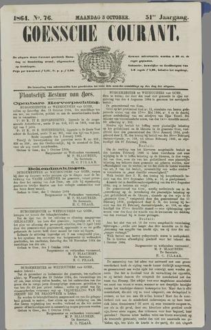Goessche Courant 1864-10-03