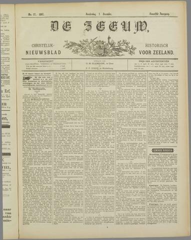 De Zeeuw. Christelijk-historisch nieuwsblad voor Zeeland 1897-12-02