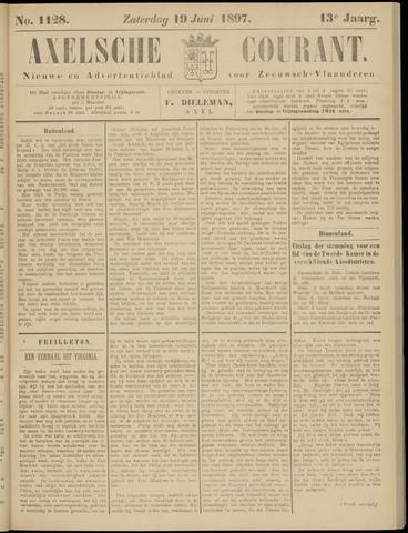 Axelsche Courant 1897-06-19