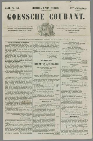 Goessche Courant 1867-11-01