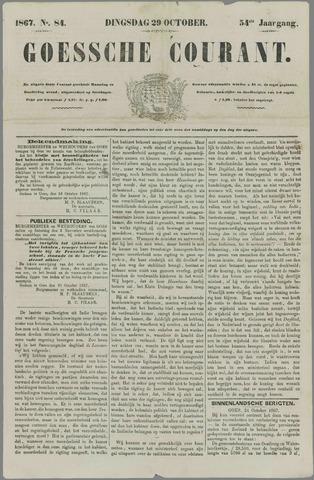 Goessche Courant 1867-10-29
