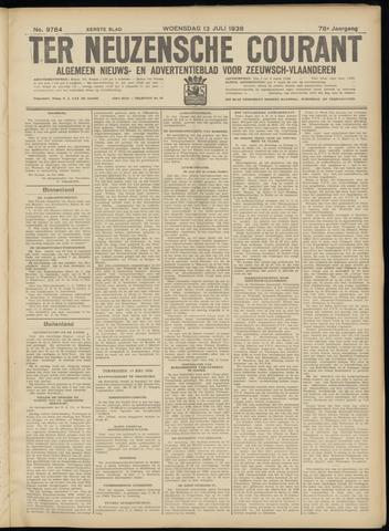 Ter Neuzensche Courant. Algemeen Nieuws- en Advertentieblad voor Zeeuwsch-Vlaanderen / Neuzensche Courant ... (idem) / (Algemeen) nieuws en advertentieblad voor Zeeuwsch-Vlaanderen 1938-07-13