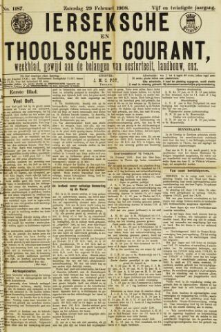 Ierseksche en Thoolsche Courant 1908-02-29