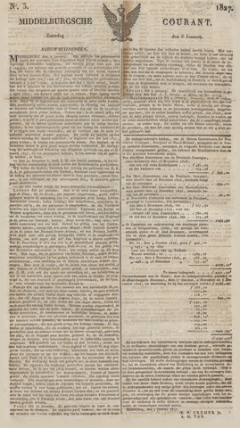 Middelburgsche Courant 1827-01-06