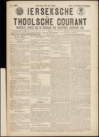 Ierseksche en Thoolsche Courant 1917-05-26