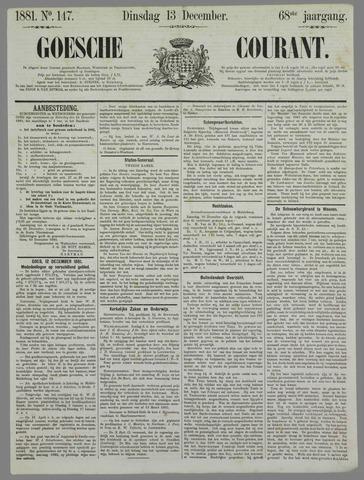 Goessche Courant 1881-12-13