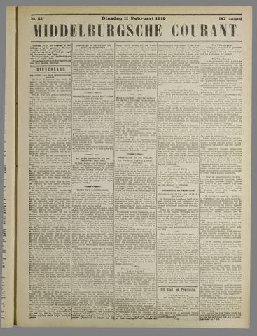 Middelburgsche Courant 1919-02-11