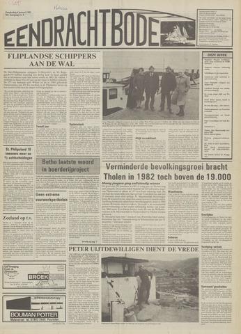 Eendrachtbode (1945-heden)/Mededeelingenblad voor het eiland Tholen (1944/45) 1983