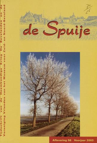 De Spuije 2003-03-01