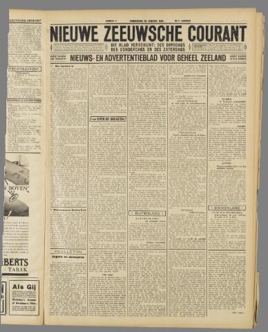 Nieuwe Zeeuwsche Courant 1934-01-25