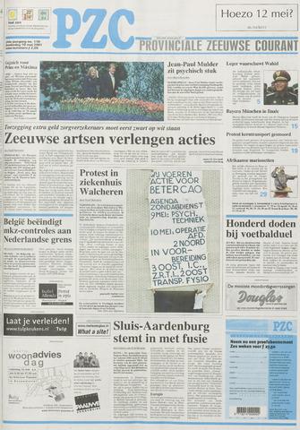 Provinciale Zeeuwse Courant 2001-05-10
