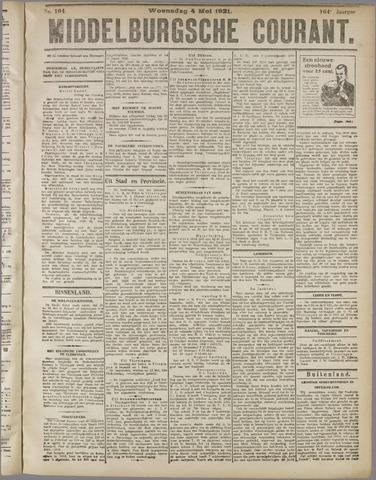 Middelburgsche Courant 1921-05-04