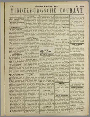 Middelburgsche Courant 1919-01-11
