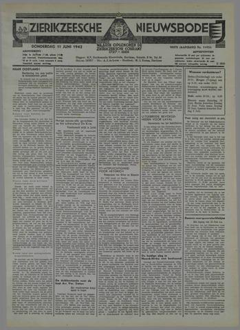 Zierikzeesche Nieuwsbode 1942-06-11