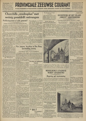 Provinciale Zeeuwse Courant 1950-02-16