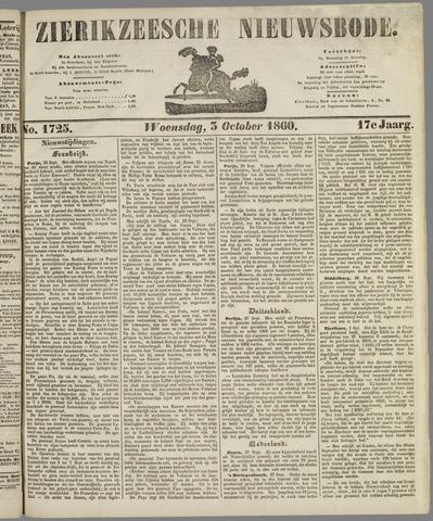 Zierikzeesche Nieuwsbode 1860-10-03
