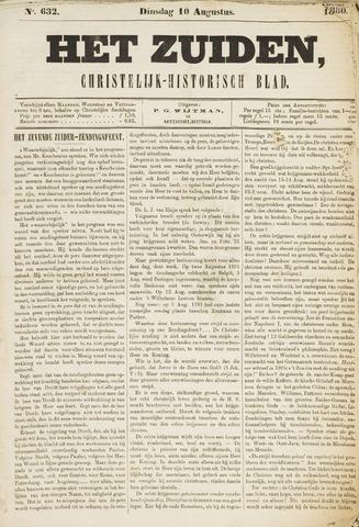 Het Zuiden, Christelijk-historisch blad 1880-08-10