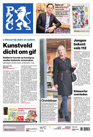 Provinciale Zeeuwse Courant 2016-10-07