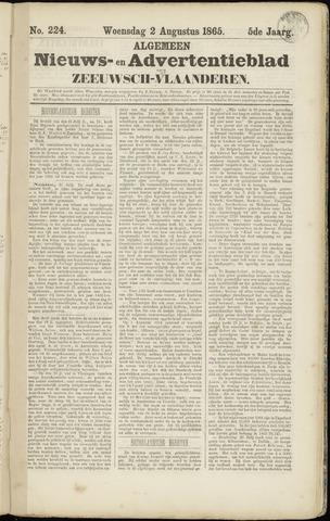 Ter Neuzensche Courant. Algemeen Nieuws- en Advertentieblad voor Zeeuwsch-Vlaanderen / Neuzensche Courant ... (idem) / (Algemeen) nieuws en advertentieblad voor Zeeuwsch-Vlaanderen 1865-08-02