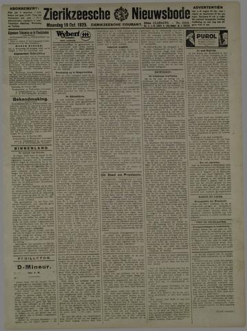 Zierikzeesche Nieuwsbode 1925-10-19